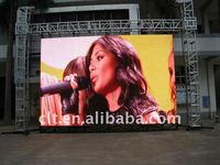 outdoor p16 ultra slim led screen display screen/dip led advertising screen board full color p16