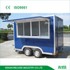 Mobile fast food diner three windows food truck/trailer