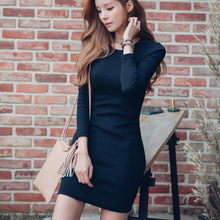 Wholesale 2016 Polyester Woman Knee-Length Cocktail Dress Fashion