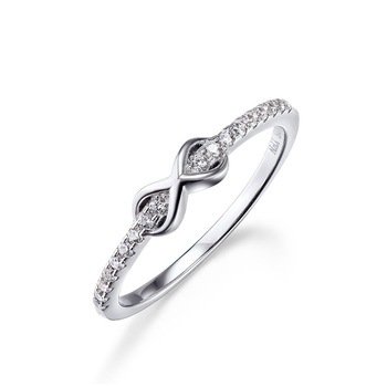 Wholesale 1 Carat Diamond Size 3 Silver Ring Thing Purity Silver Ring Knot