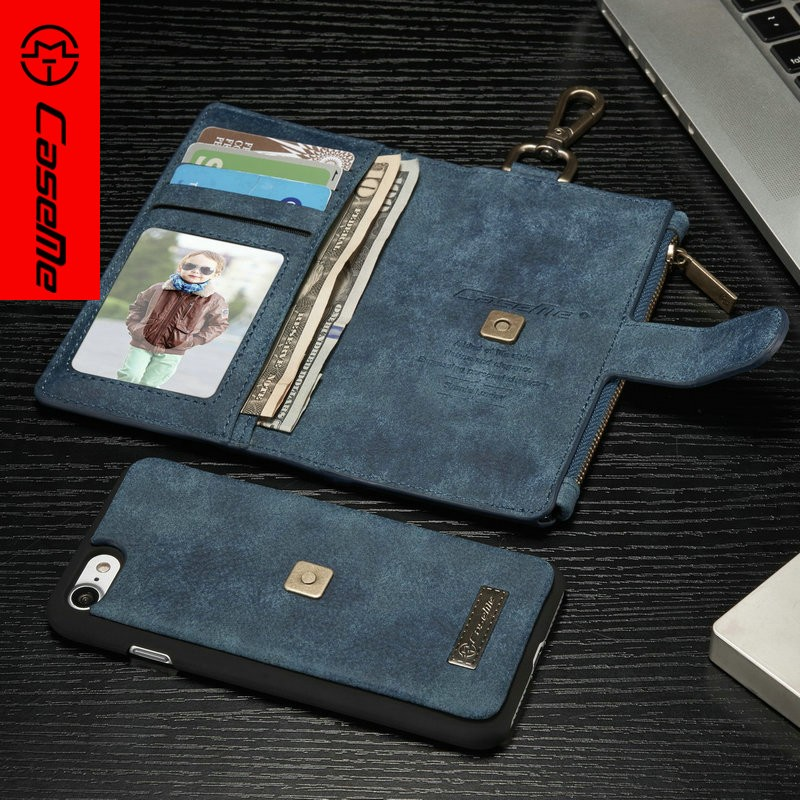 Newest Design Fashion Filp Stand Wallet PU Cell Phone Case for iPhone 7