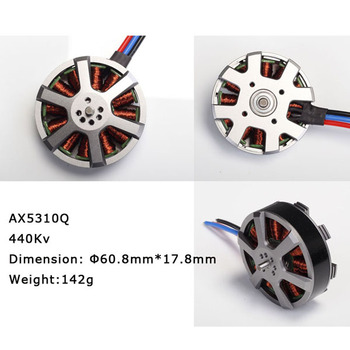 Quadrocopter brushless dc motor AX5310Q outrunner brushless motor for rc aircraft