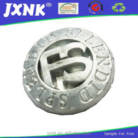 fashion wholesale jeans tack metal embossed snap button for garments
