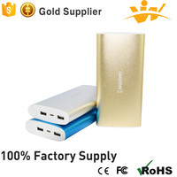 cheap price 10000 mah super fast charging double USB portable smart color power bank