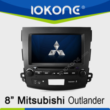 "8"" HD Touch screen mitsubishi outlander navigation system with ipod, usb, dvd, camera, dvb-t"