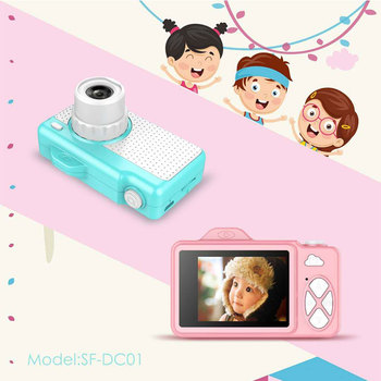2019 Kids Camera Action Video Digital Camera HD Camcorder for Toys Gifts Children Camera