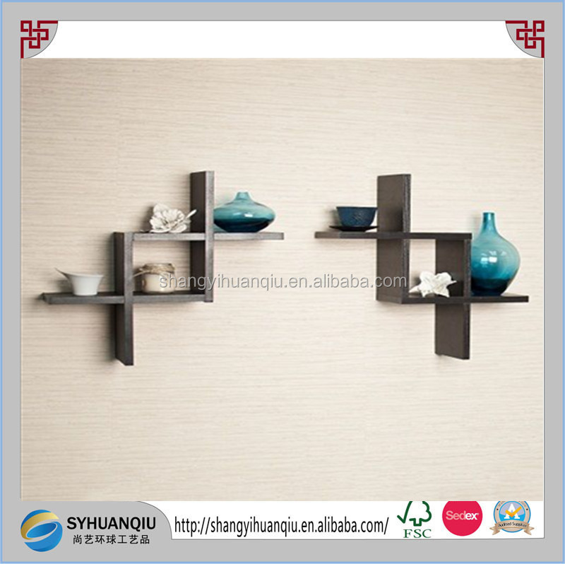 Wall Mount Shelves Floating 3 Set for Home Decor Living Room Bedroom