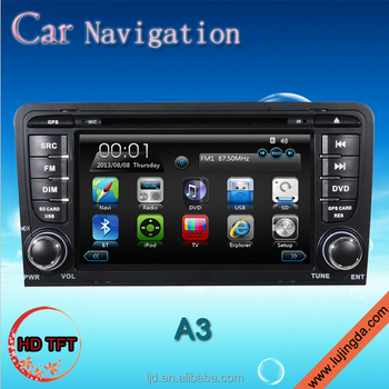 car dvd gps navigation system with car radio android for au-di a3