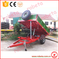 Robeta 7C Series Agriculture walking tractor trailer with ce approved