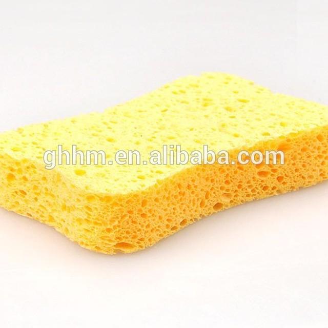 Custom cellulose cleaning foam sponge