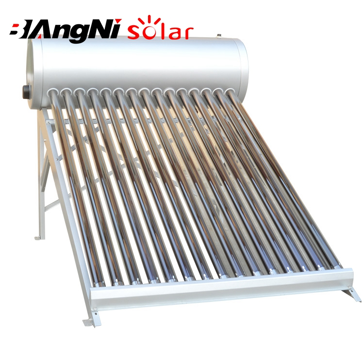 Durable Use 18 Tube Solar Water Heater With Silicon Ring