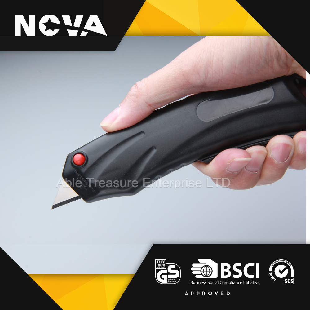 Cheap wholesale plastic handy safety easy cut box Knife cutter
