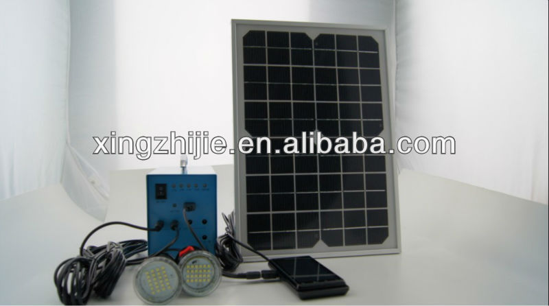 20W off grid hybrid solar wind power system