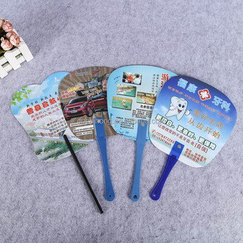 personalized plastic hand fan kids hand fan hand held fan for advertising