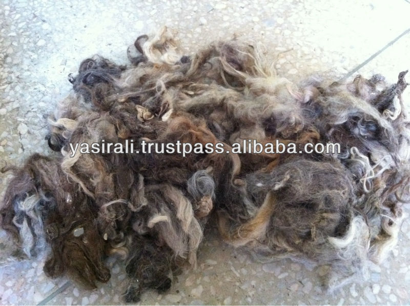 Raw Wool/ ANIMAL HAIR