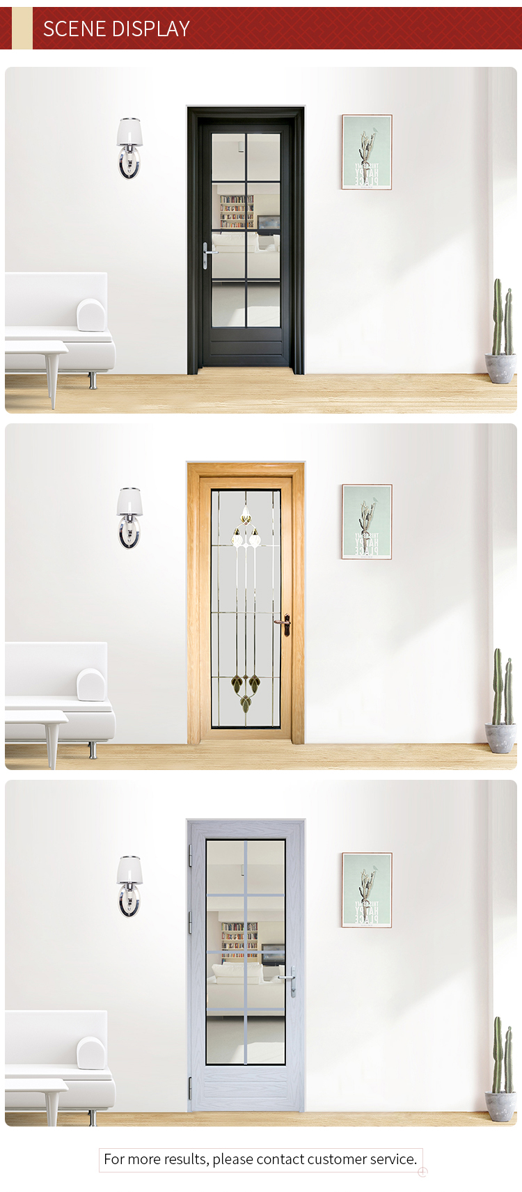 designs single swing aluminium bathroom glass door