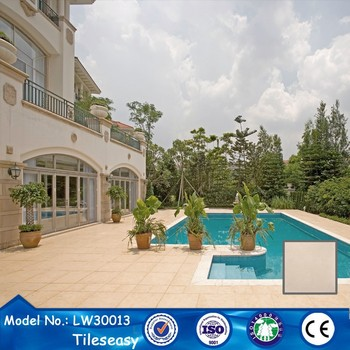 300x300mm floor non slip glazed ceramic swimming pool tile