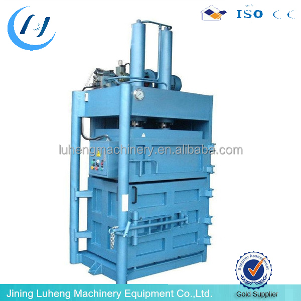 Hydraulic baler machine for used clothes with UK quality and CE - LUHENG