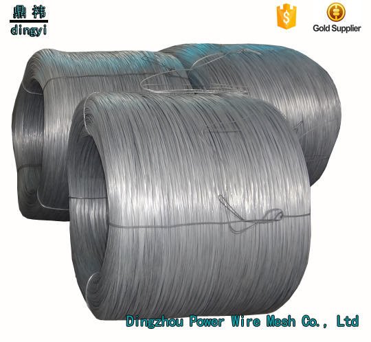 Dingzhou coil manufacturer galvanized welded wire Heavy high quality iron wrie ( Soft )
