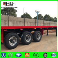 China Factory 40T Stake Container Flatbed