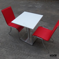 high end restaurant furniture , two seater table and chair set