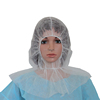 Disposable head cover for factory lab use fully shield