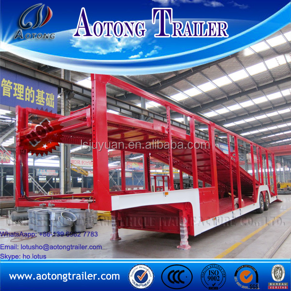 Car carrier Vehicle Transport Semi truck Trailer for sale
