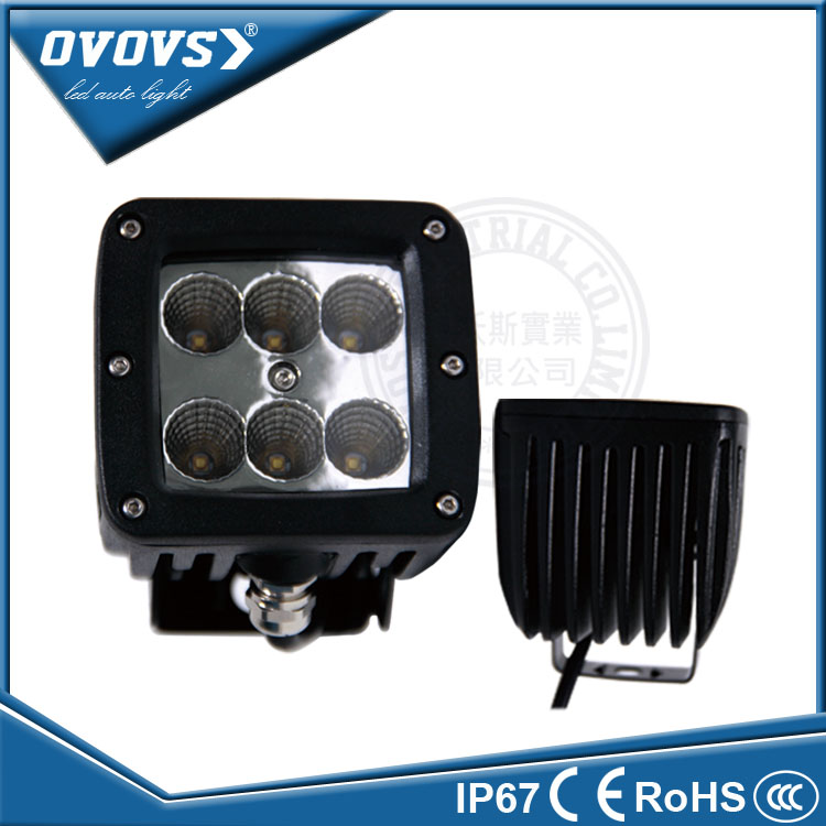 OVOVS Tractor part mini worklight led 12 volt 30w work light for truck offroad