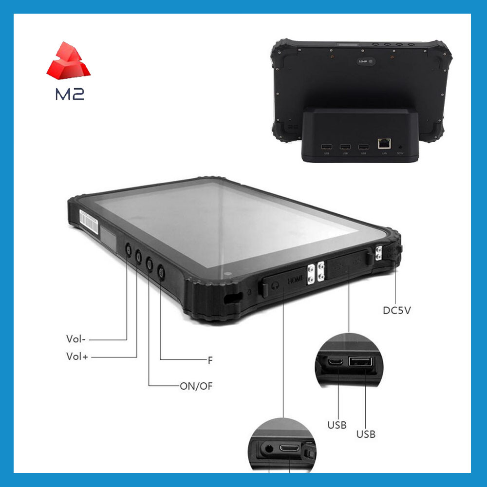 8inch Rugged Tablet Android 3G IP67 Tablet Terminal Wifi Bluetooth 4g lte Tablet industrial panel pc