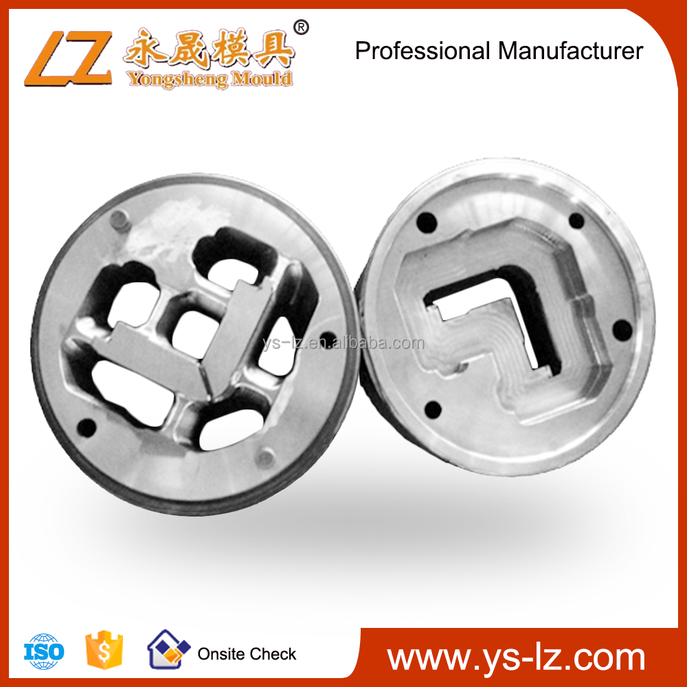 Hot aluminium extrusion mould accept any shaped mold customization extrusion die head