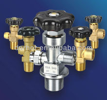 all series gas brass stainless steel cylinder valve