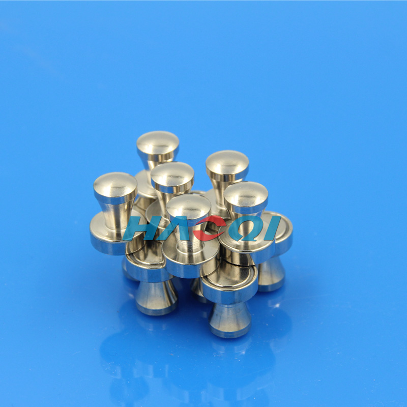 Office metal Neo push pin magnets