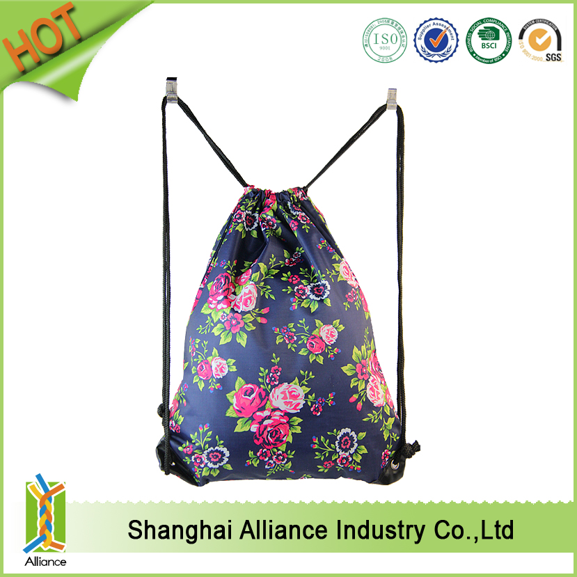 Fashion Cute Lightweight Drawstring Backpacks for Teen Young Girls