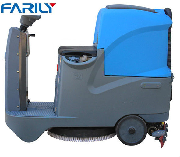 high quality ride on small size floor scrubber floor cleaning machine