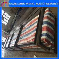 china standard color coated aluminum roofing sheet