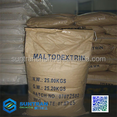 Chinese bulk Maltodextrin for food additives