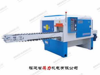 Horizontal 526-C type round log multi rip saw machine