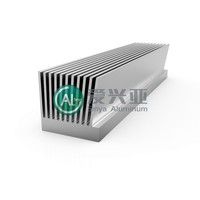 Extrusion aluminum led heat sink profiles SH024