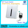 Intelligent Touch Screen Light Remote Control Wall Switch