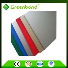 Greenbond knocking resistant insulated interior wall panel acm acp sheets for column cladding factory supply