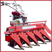 rice crop cutting machine/wheat rice reaper made in China