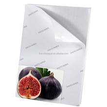 90gsm/135gsm/150gsm A3 A4 sticker photo paper /adhesive glossy photo paper