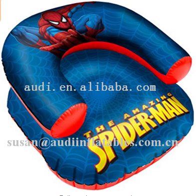 factory price Spiderman Inflatable Speaker Chair manufacturer for sale