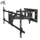 Adjustable Folding Wall Shelf LCD Sliding TV Mount For VESA 800x400mm