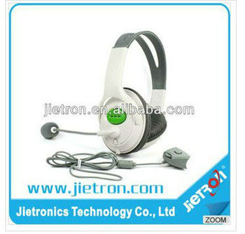 Fashionable Sensational Headset, Headsets, Earphones With Microphone For Micsoft XBox 360 Controller