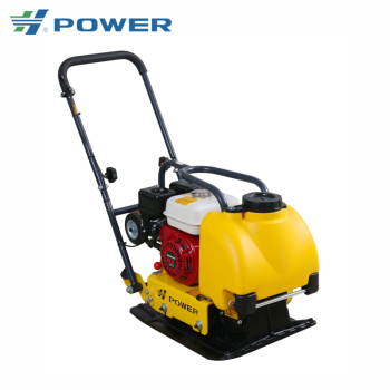 80-90kg Cast Iron Vibratory Plate Compactor C80T with Water Tank