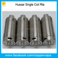 Asome flavor Hussar Rta 2.0mm & 2.5mm airhole post hussar single rta better dual coil in stock now