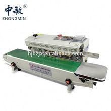 Continuous sealer for bag