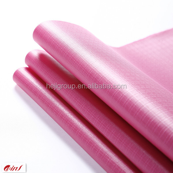 waterproof oxford fabric for bag/luggage/tent customized pvc fabric