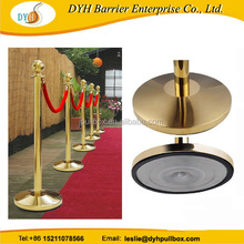 hanging rope post stanchion,red carpet barrier